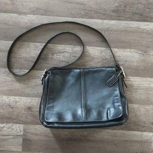 Coach Hampton black purse